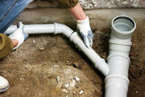 Trenchless waterline replacement